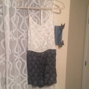 ROXY romper size xs small new with tags